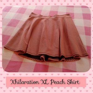 Xhilaration Peach Skater Skirt
